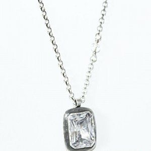 NEW! Silpada N1859 Sterling Silver/CZ  Necklace